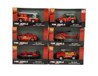Brandweer voertuigen