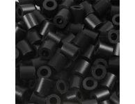 Strijkkralen zwart, 6000 st