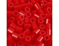 Strijkkralen rood, 6000 st