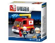 Brandweer spuitwagen